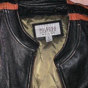 Men's lg leather jacket